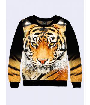 Світшот жіночий Морда Тигра