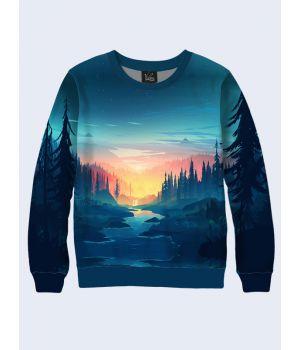 Свитшот Сумеречный лес