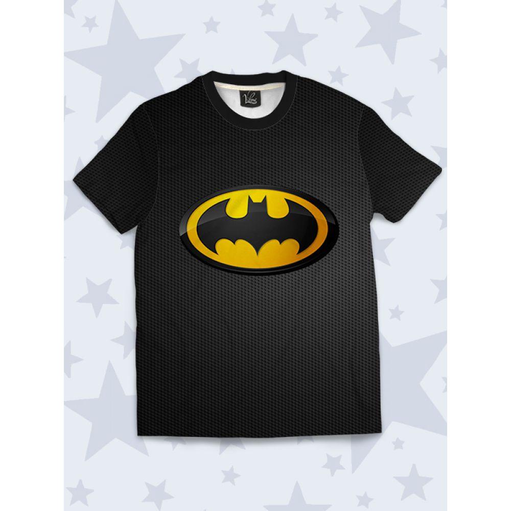 ece83924fd353 3D Детская Футболка Batman emblem - Купить детские футболки с ...