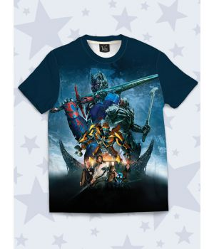 Футболка Transformers heroes