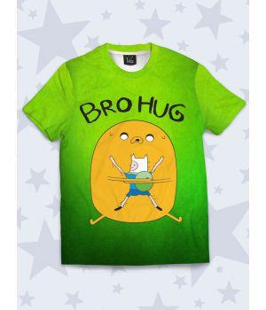 Футболка Bro hug