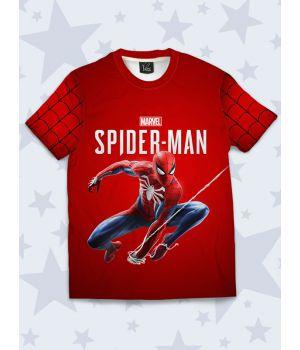 Футболка Spider-Man in flight