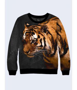 Свитшот Спокойный тигр