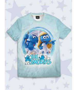 Футболка The Smurfs