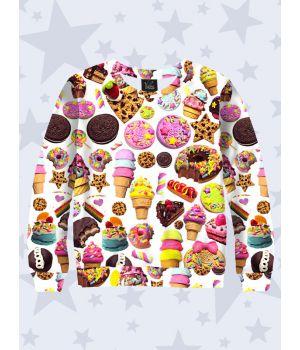 Свитшот Страна сладостей