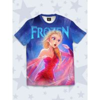 Футболка Elsa in red