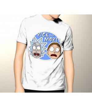 Футболка logo Rick and Morty