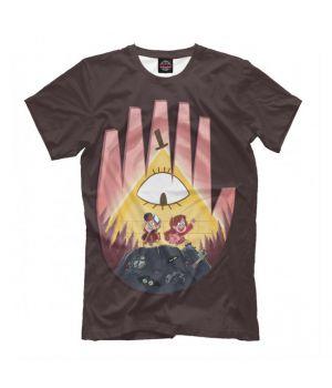 Футболка Gravity Falls рука