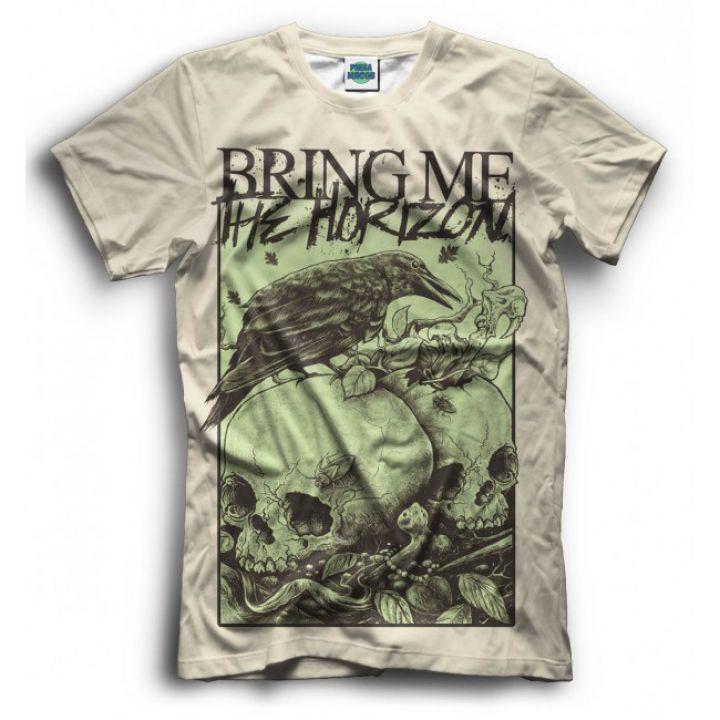 Мужская Прикольная футболка с рисунком Bring Me The Horizon 2