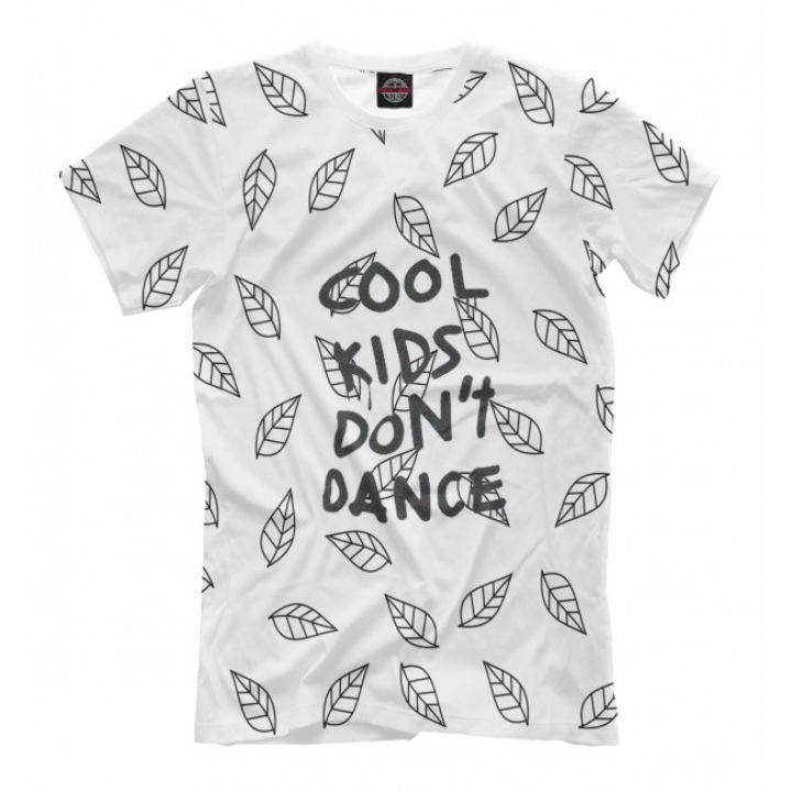 Мужская Дизайнерская футболка с рисунком Cool kids