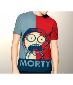 Футболка obey morty
