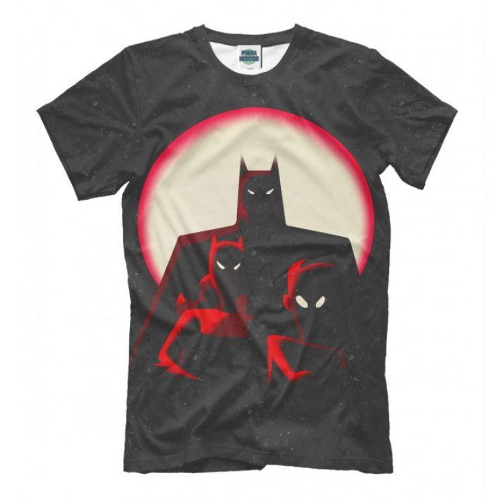 Мужская Прикольная футболка с рисунком Batman 2