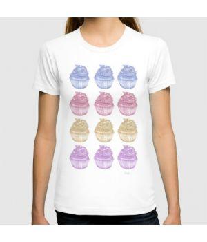 Футболка Colourful Cupcakes
