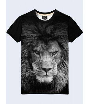 Футболка чоловіча Грізний лев