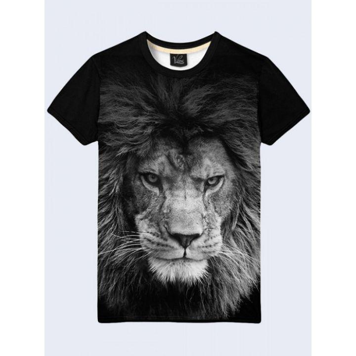 Футболка мужская Грозный лев