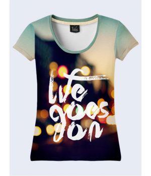 d2494bd1c9ab8 Футболки яркие женские с 3D принтом - Купить стильную футболку в ...