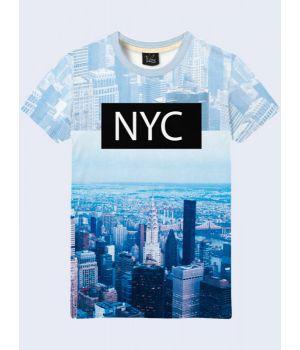 3D-футболка мужская Manhattan