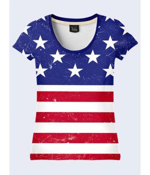 Футболка Флаг США