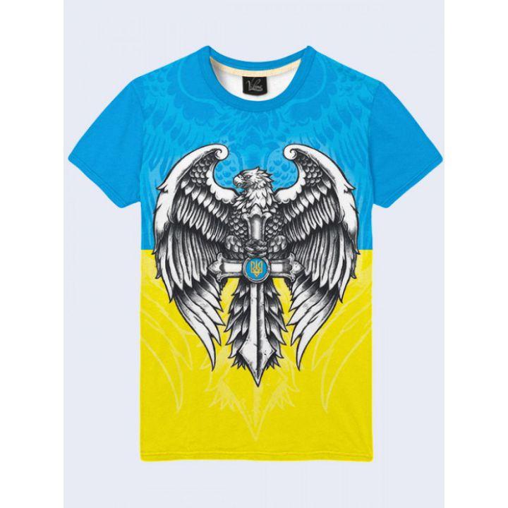 Футболка мужская Орел Украина