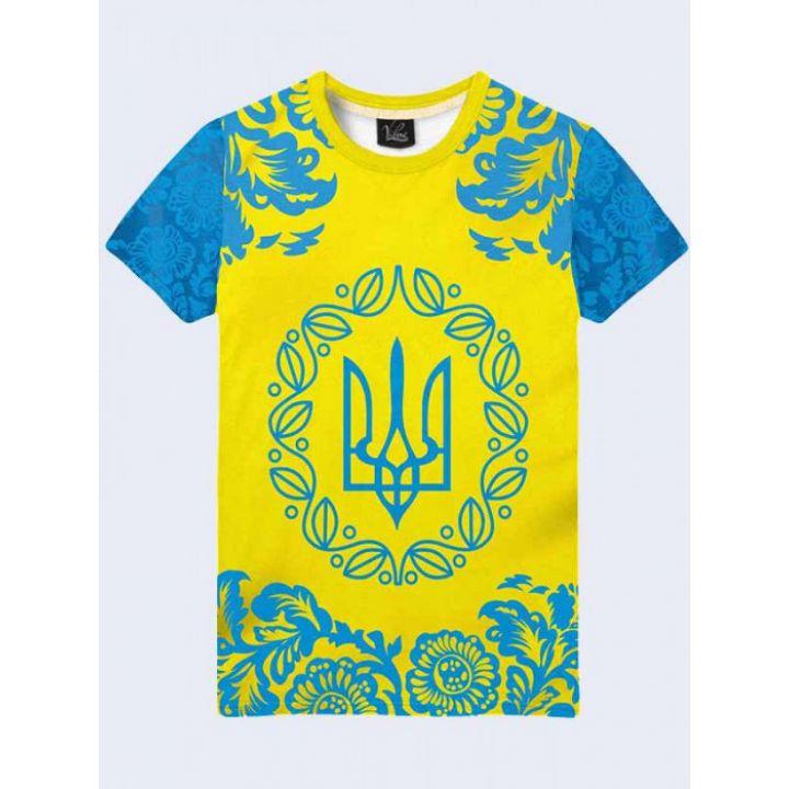 Футболка мужская Украинская символика