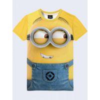 3D-футболка мужская Миньон