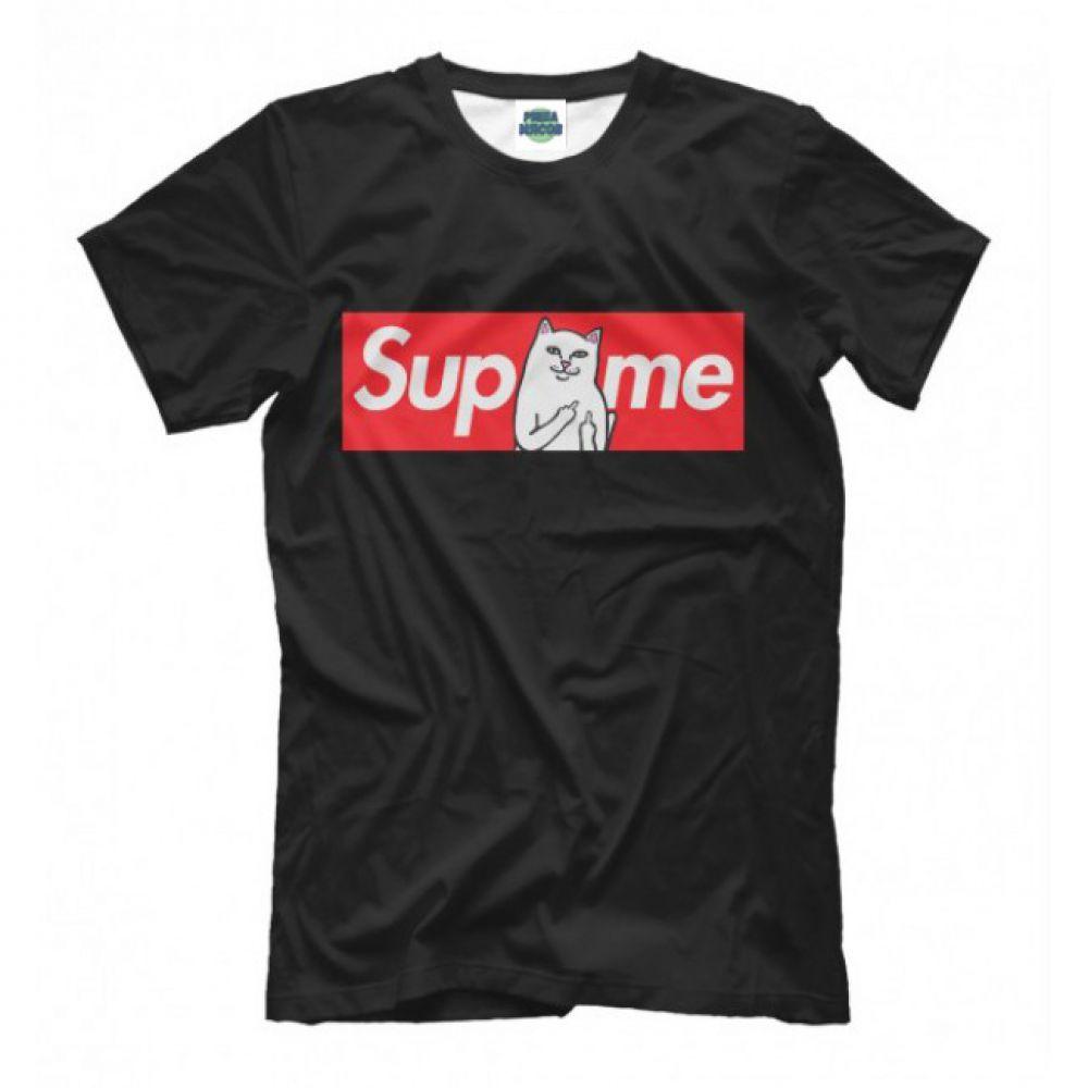 37890b748110f Женская Прикольная футболка с рисунком Ripndip Supreme - Купить ...