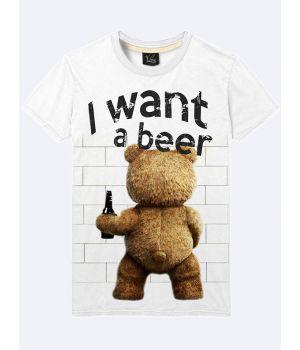 Футболка I want a beer