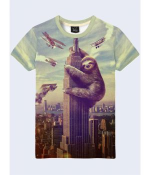 Футболка Огромный ленивец