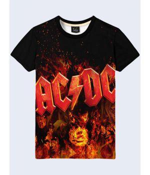 Футболка AC/DC Fire