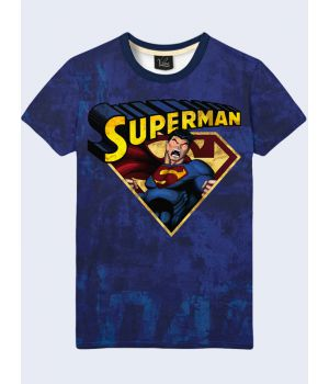 Футболка Супермен в гневе