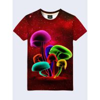 Футболка Цветные грибы