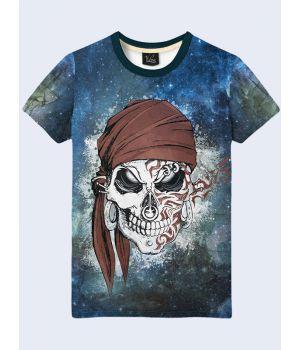 Футболка Череп пирата