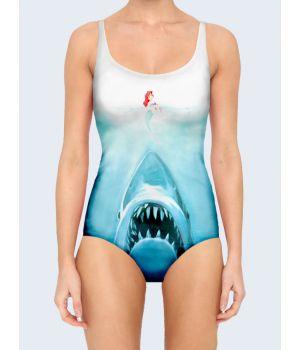 Купальник Аріель з акулою