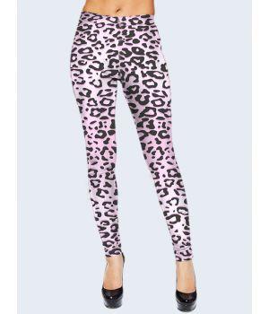 Легінси Рожевий леопард