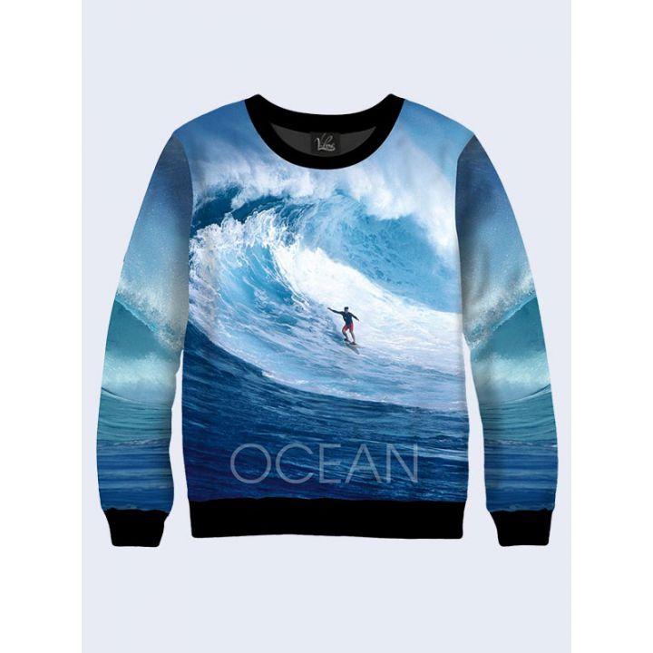 """Світшот для чоловіків """"Океан"""" синій"""