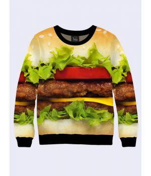 "Мужской свитшот ""Чизбургер"""
