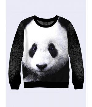 "Свитшот для мужчин ""Панда"" черно-белый"
