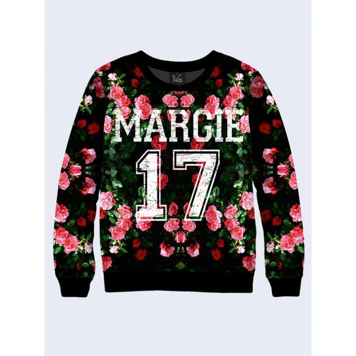 """Женский свитшот """"Margie"""" зеленый"""