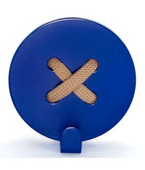 Вешалка настенная Button Blue