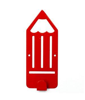 Вешалка настенная Pencil Red