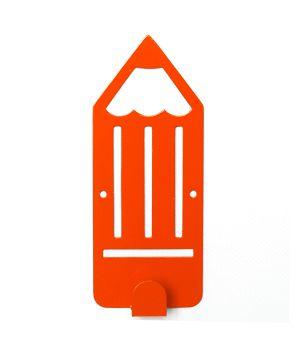 Вешалка настенная Pencil Orange