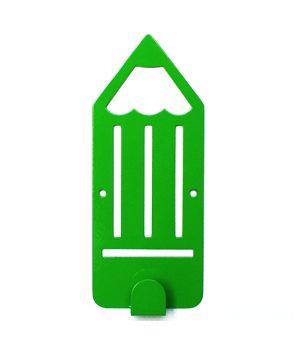 Вешалка настенная Pencil Green