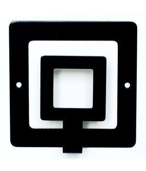 Вішалка настінна Square
