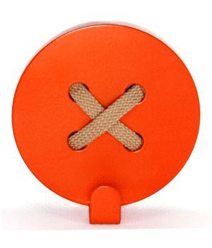 Вешалка настенная Button Orange