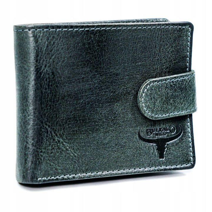 Мужской кошелек бумажник из натуральной кожи, 76931