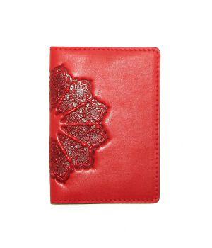 Дизайнерська шкіряна обкладинка на паспорт, 77271