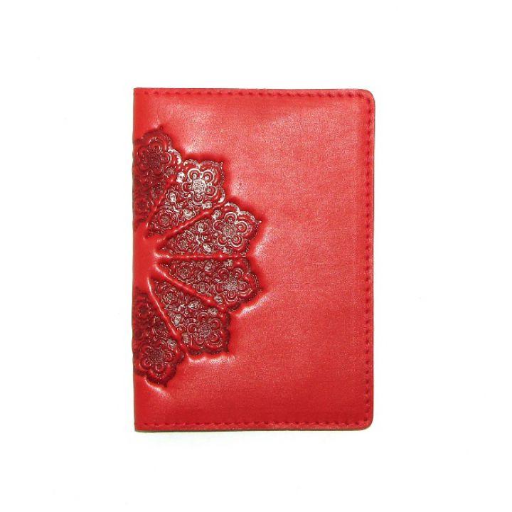 Дизайнерская кожаная обложка на паспорт, 77271