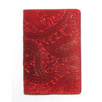 Дизайнерська шкіряна обкладинка на паспорт, 77272