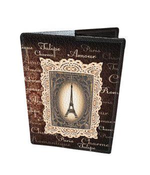 Дизайнерська шкіряна обкладинка на паспорт, 77253