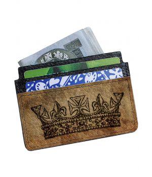 Картхолдер-візитниця DevayS Maker DM 02 Королева коричневий (25-0102-450)